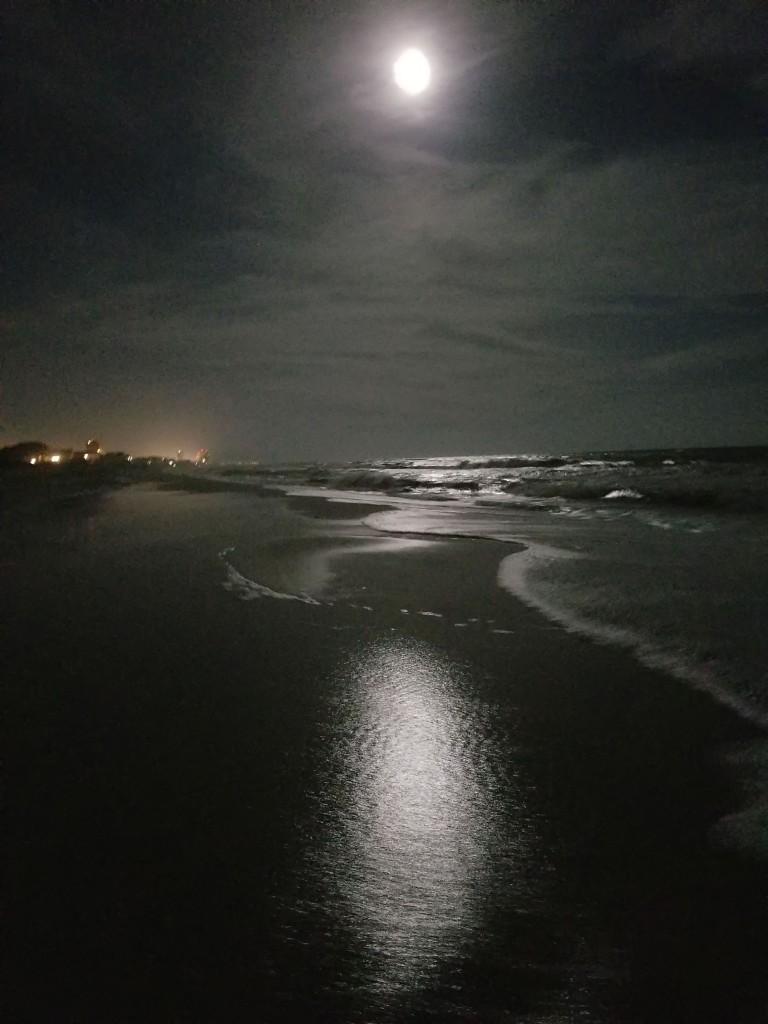 Moonlight Over Gulf Shore Alabama